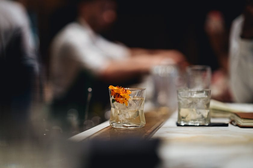 Image of the Arriviamo bar in the Starbucks Reserve Roastery in Milano, Italy