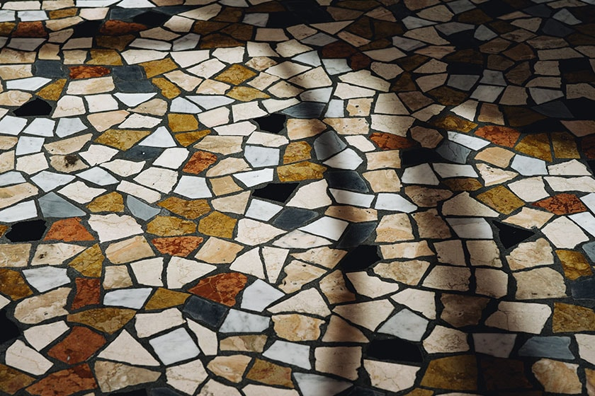 Image of Palladiana flooring in the Starbucks Reserve Roastery in Milano, Italy