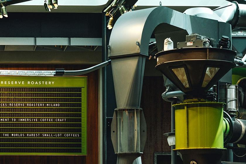 Image of Scolari Roaster in the Starbucks Reserve Roastery in Milano, Italy