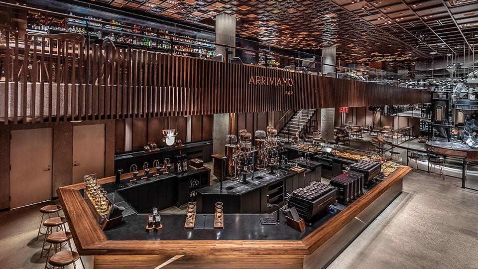 The New York Roastery Starbucks Reserve