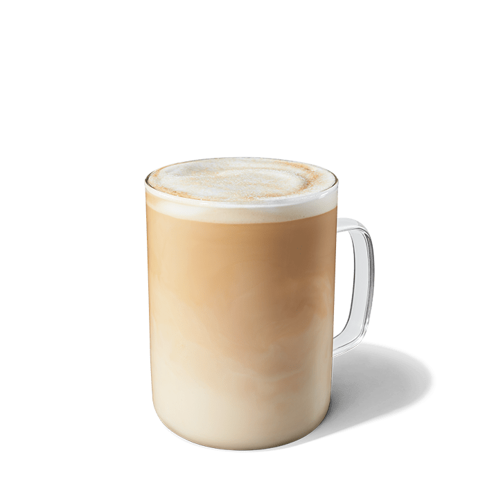 Smoked Butterscotch Latte in a glass