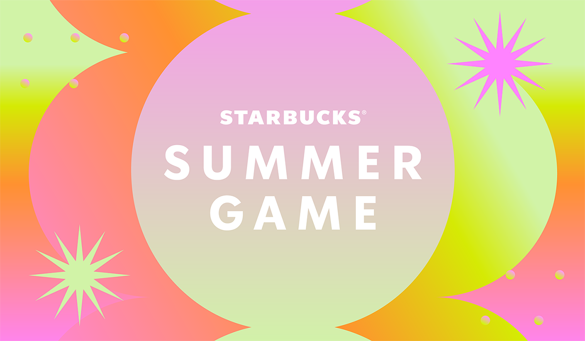 Bright, shimmery Summer Game logo