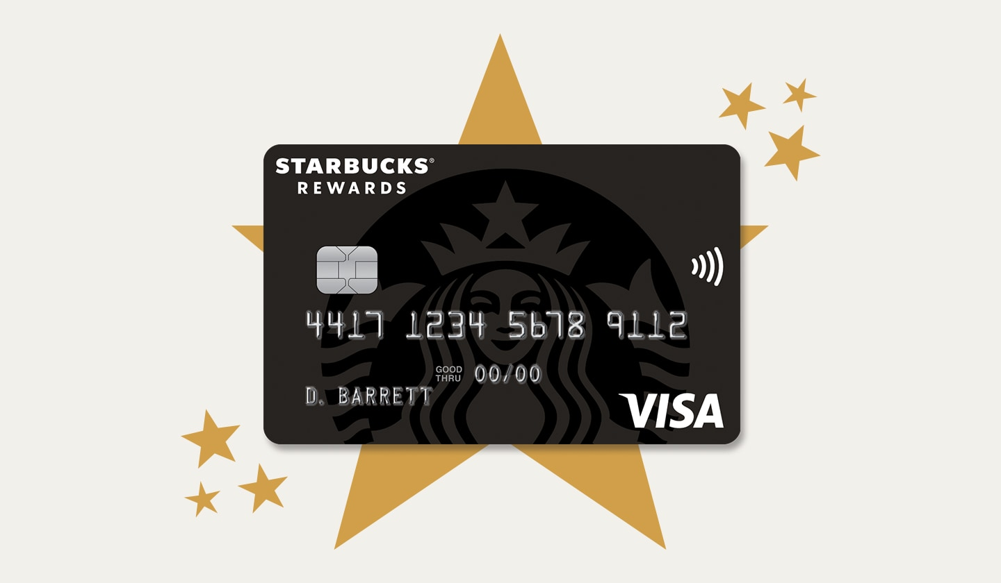 Starbucks® Rewards Visa® Credit Card 4500 Stars Super Starifying Banner