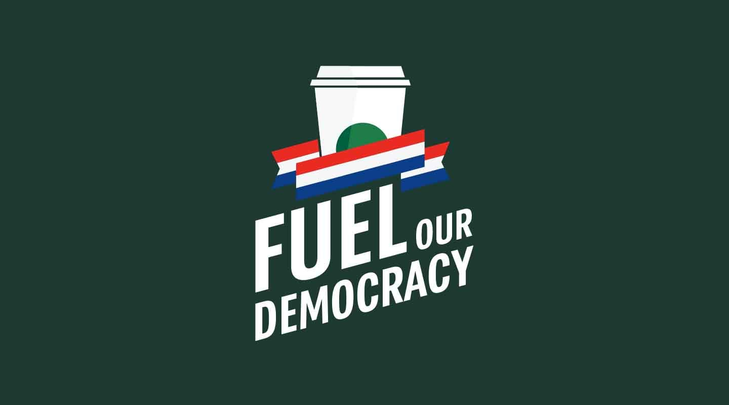 Fuel Our Democracy logo