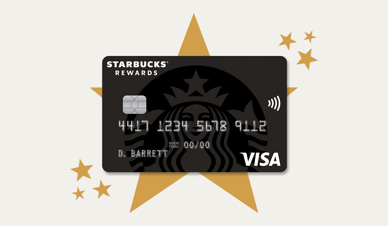 Starbucks® Rewards Visa® Credit Card 4500 Stars Super Starifying Banner