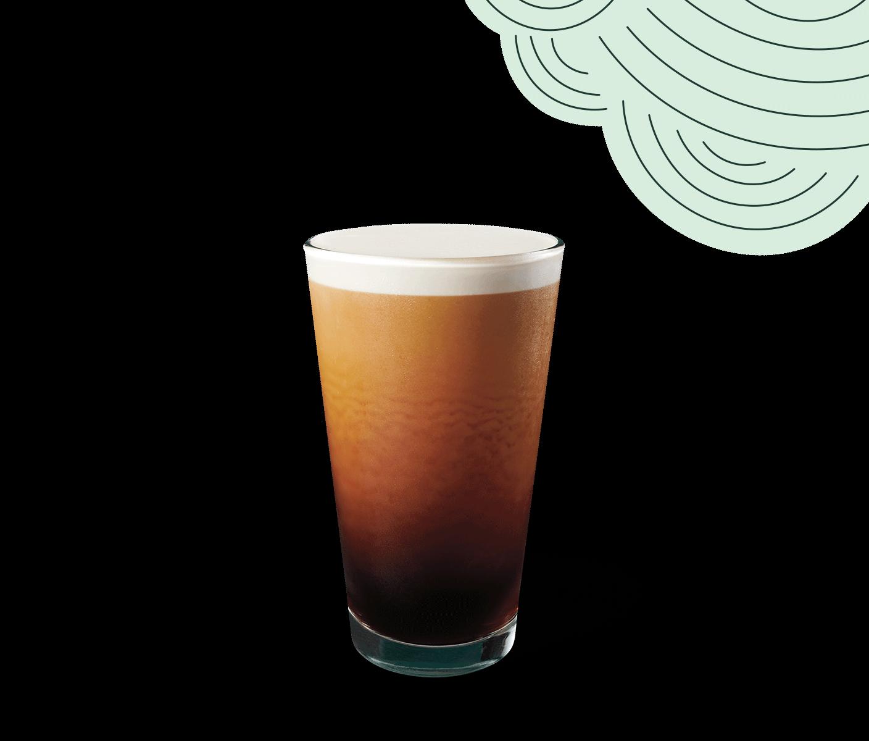 Glass of Nitro Cold Brew.