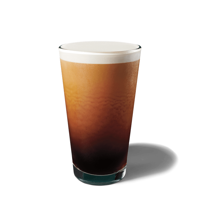 A glass of Nitro Cold Brew