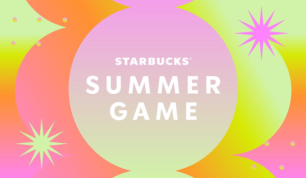 Bright, shimmery Summer Game logo