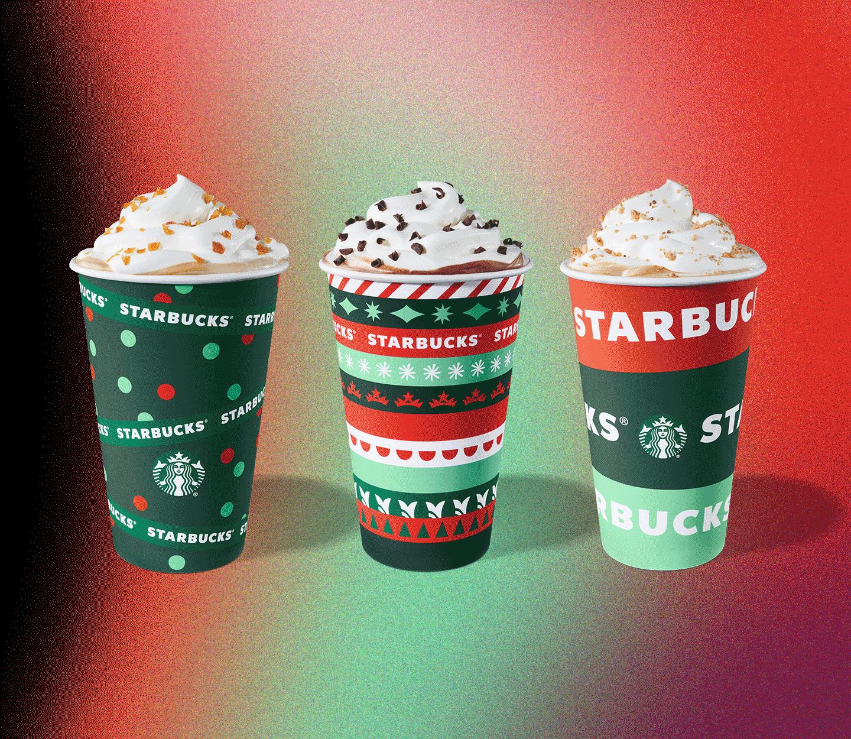 Trio of beverages.