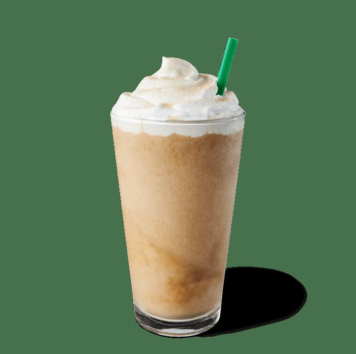Boisson frappée Frappuccino® au caramel écossais fumé.