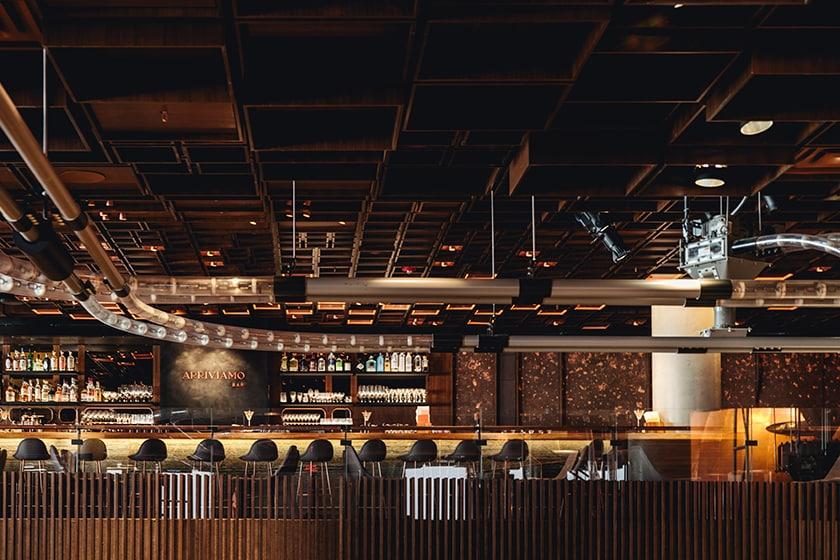 Arriviamo Bar in the New York Roastery